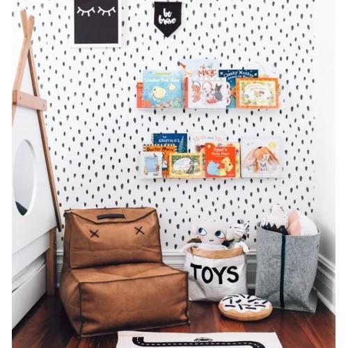 Идеи для детской комнаты: использование кресло-мешка