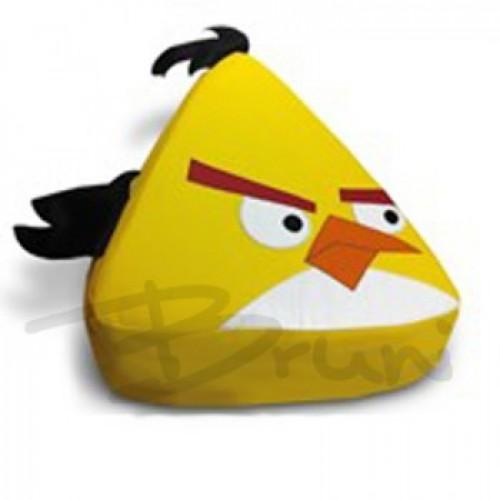 Детское кресло-мешок Игрушка Yellow Angry Bird