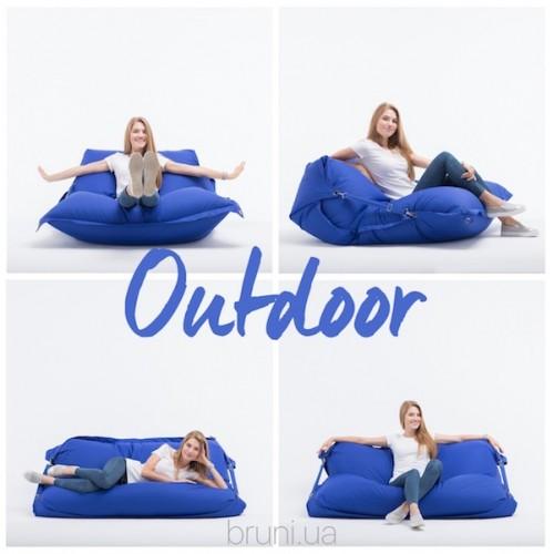 Кровать и кресло-мешок 2 в 1 - компактное решение вашего интерьера